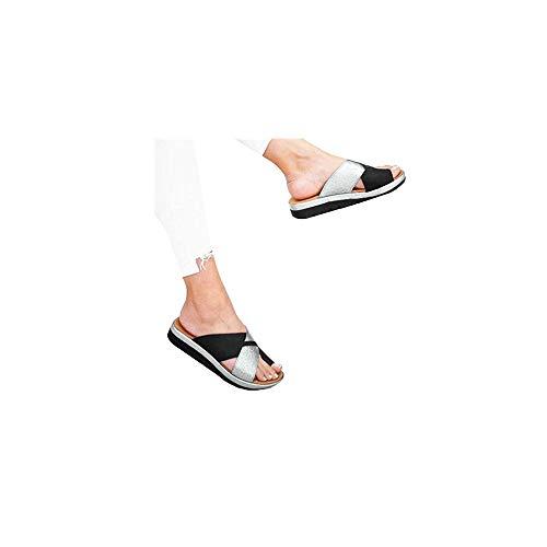 Celucke Donne Comfy Piattaforma Sandalo della Spiaggia di Estate di Viaggio Scarpe di Moda Sandali da Donna Comode Scarpe
