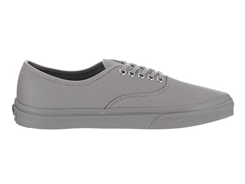 Vans Womens Authentic Cuban Canvas Trainers (Primary Mono) Frost Gray/Silver