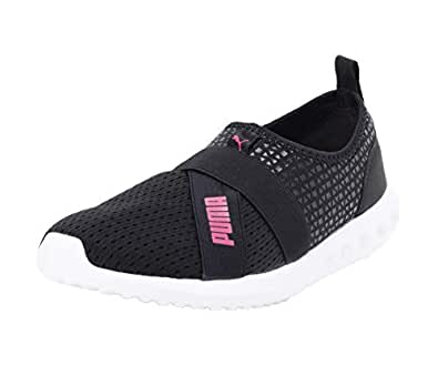 Puma Women Running Dwane Slip-On IDP Black Sports Shoes