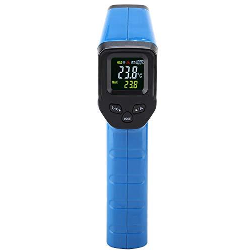 Digitales Infrarot-Thermometer Walfront DT8550JCT Berührungslose LCD-Anzeige Digitale Infrarot-Temperatur-Thermometerpistole mit Benutzerhandbuch -50 ℃ ~ 550 (-58 ℉ ~ 1022 ℉) Blau/Schwarz