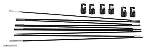upper-bounce-unisex-ubfgpcs-universal-trampoline-fiber-glass-rods-with-pole-caps-black-10-ft