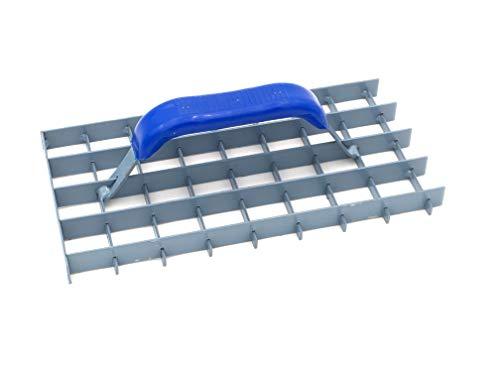 Gitter-Rabot (Gitterrabot) - Putzhobel - Putzglätter - Gitterweite: 30x30mm - Abmessung: 285x145mm - Schleifraspel
