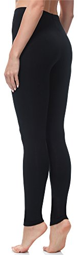 Merry Style Damen Lange Leggings MS10-143 Schwarz
