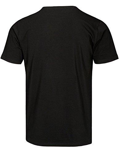 Basefield Herren Basic V-Shirt 1/2 - Schwarz (219011520) 900 SCHWARZ