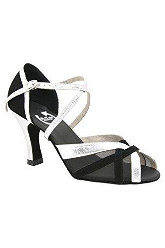 RoTate Wendy Standard-Tanzschuhe schwarz/silber