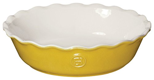Emile Henry 856122 HR Ceramic Mini Pie Dish, Leaves Emile Henry Pie Pan