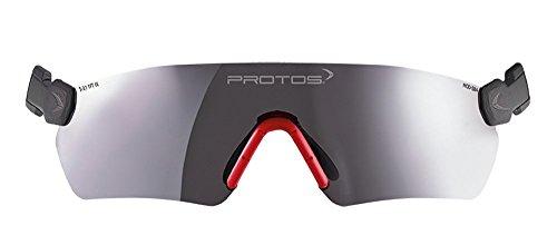 Preisvergleich Produktbild Protos integrale Schutzbrille für Helmsystem, Farbe:getönt
