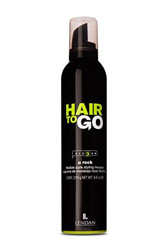 Lendan LD Hair To Go U Rock Espuma Flexible Rizos - 300 ml