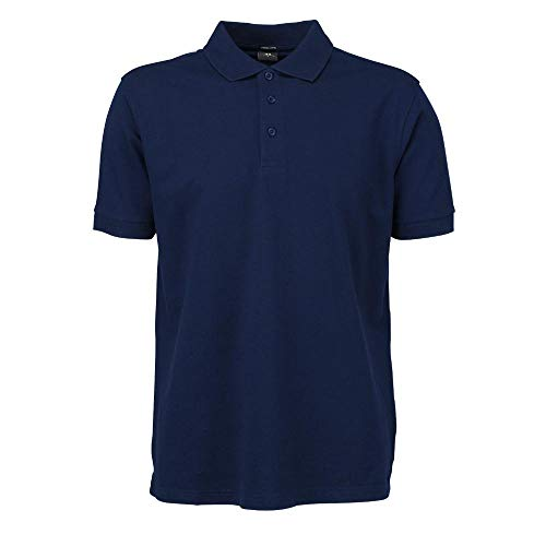 Tee Jays - Mens Stretch Deluxe Polo / Navy, L L,Navy -