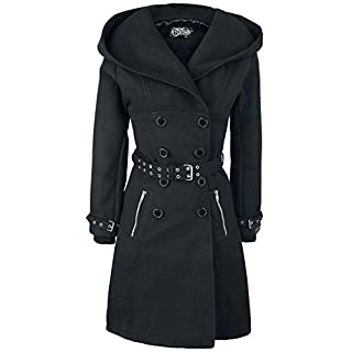 Vixxsin Mantel Decay Coat Schwarz M