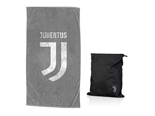 IGLIARDI F.C. Juventus Strandtuch Juventus groß mit Beutel neu Logo 90 x 170 - Offizielles Produkt aus der Kollektion