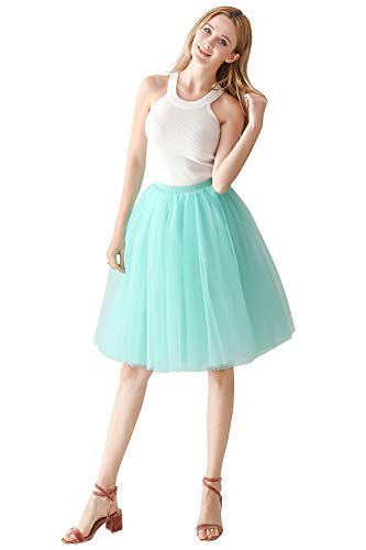 2019 Tüllrock Unterrock Petticoat für Party Rockabily Klied OneSize - Weiß Goldenes Kleid Kostüm
