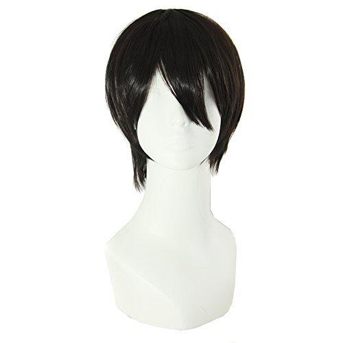 mapofbeauty-30cm-12-pollice-medio-lisci-uomo-lisci-parrucche-bianco