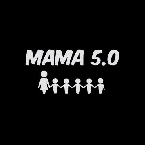 TEXLAB - Mama 5.0 - Damen T-Shirt Schwarz