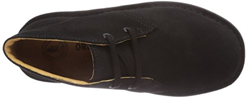 Clarks Originals Stivali Desert Boot, Donna Nero (Black/Blk Suede)