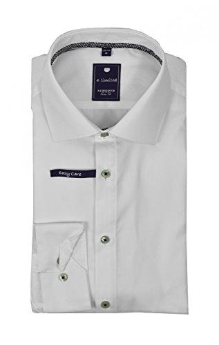 Michaelax-Fashion-Trade -  Camicia classiche  - Basic - Classico  - Maniche lunghe  - Uomo Weiß(0)
