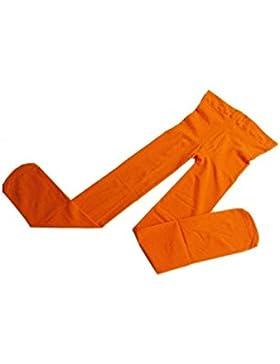 Pantys - TOOGOO(R)Medias de nina bebe Pantys de mezcla de algodon de estiramiento Naranja S
