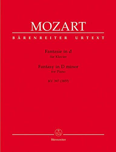 Fantaisie en ré mineur KV 397(385g)-Urtext --- Piano