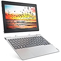 Lenovo MIIX 320 25,65cm (10,1 Zoll HD IPS Touch) 2in1 Tablet (Intel Atom x5-Z8350 Quad-Core, 4GB RAM, 64GB eMMC, Windows 10 Home) silber