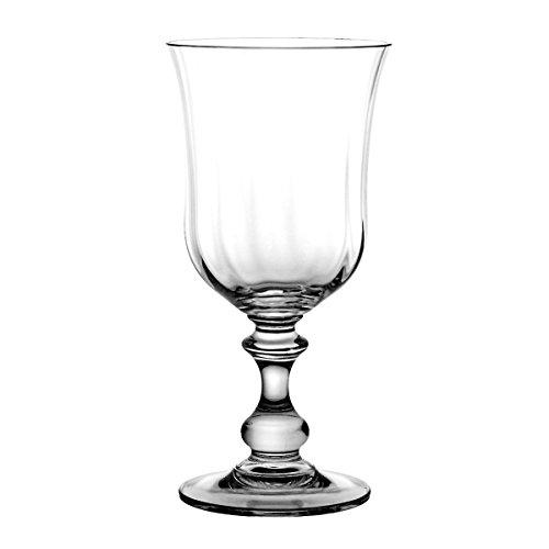 Crystaljulia 2952 Weinglas Bleikristall, 6 Stück, 350 ml