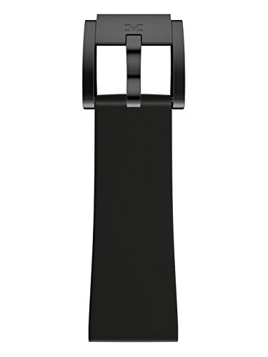 TW Steel Marc Coblen Armband Uhrenband Uhrenarmband Silikon 22 MM Schwarz SB_BK_B