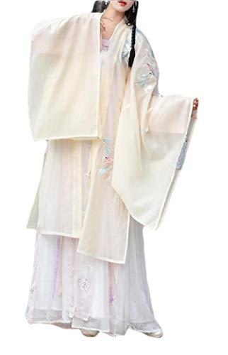 Chinesen Kleid Kostüm - BingSai Damen Ancient Chinese Traditional Hanfu Kleid Han Dynasty Cosplay Kostüm Gr. L, 1