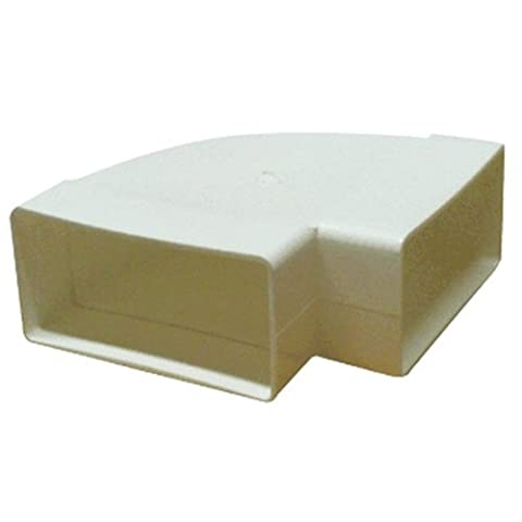 Kair Rectangular 180mm x 95mm 90 Degree Horizontal Elbow Bend