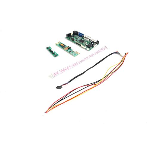 Candybarbar Professionelle M. NT68676.2A HDMI DVI VGA Audio LCD LED Bildschirm Controller Board DIY Bildschirm Monitor Kit Set 2048 Kit