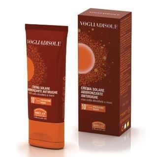 Vogliadisole crema solare antirughe abbronzante 10 spf helan 75 ml