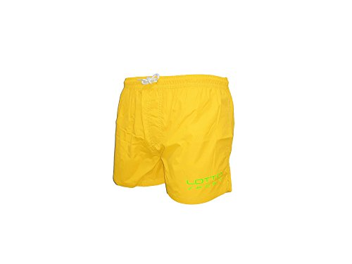costume uomo boxer nylon LOTTO colori fluo sport beachwear art. 3029 giallo fluo