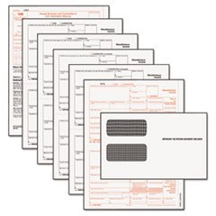 TOPS® Tax Forms/1099 Misc Tax Forms Kit w/24 Forms, 24 Envelopes, 1 Form 1096 by Tops
