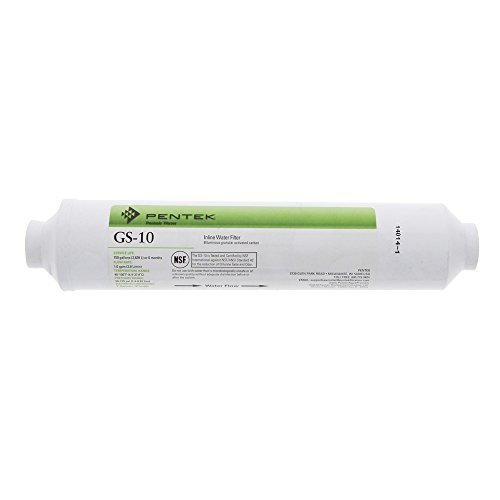 Pentek In-line-filter (Pentek GS-10-B Sta-Rite Inline Water Filter, Granular Activated Carbon by Pentek)