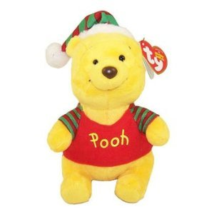 ty-beanie-baby-disney-christmas-holiday-winnie-the-pooh-bear-walgreens-exclusives
