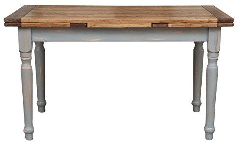 Tavolo allungabile Country in legno massello di tiglio struttura ...