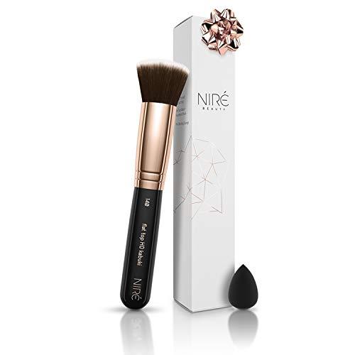 Brocha base maquillaje 140 Niré Beauty: brocha maquillaje