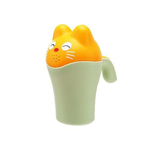 Nicetruc Badezimmer Organizer Hund Spielzeug Baby Dippers Badspülen Cup Dusch-Shampoo Scoops Sprinkler Flasche Badewanne Schwimmen Spielzeug für Kinder Kinder Grün -