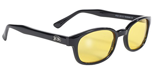 Preisvergleich Produktbild echte Sonnenbrillen KD's gelb 20112 - bikers