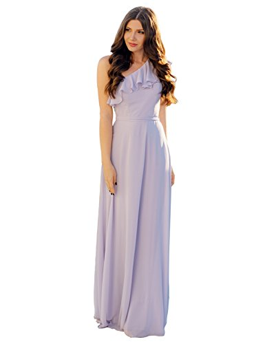 Ever Pretty Women's Elegant Floor Length A Line Chiffon Long Bridesmaids Dress 07201
