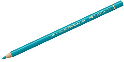 Faber-Castell Polychromos 110156 – Lápiz de color (Fijo, Madera, Verde, Verde, Alrededor)