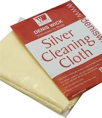 Silver Cloth For Cleaning Silver Plated Woodwind & Brass Instruments