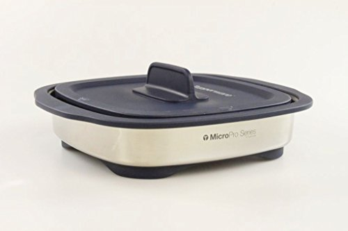 TUPPERWARE MicroPro Grill dunkelblau Mikrowellen-Griller Mikrowelle