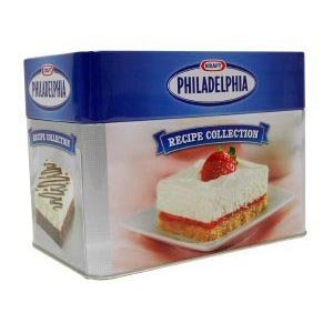 collectible-philadelphia-cream-cheese-tin-with-recipe-card-collection-by-kraft-foods-2008-11-06