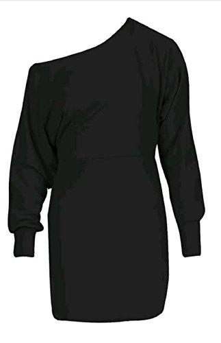 Generic -  Vestito  - Camicia - Maniche lunghe  - Donna Black