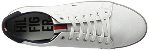 Tommy Hilfiger Herren H2285arlow 1d Low-Top Elfenbein (Bianco)