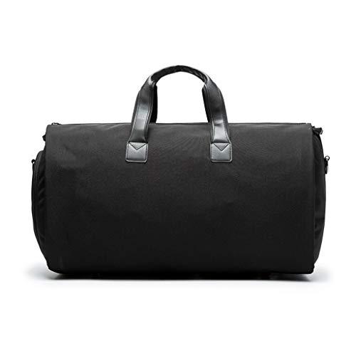 lailongp 2 in 1 Reise Kleidersack + Duffle Business Anzug & Jacke Gym Sport Gepäck Taschen Organazer -