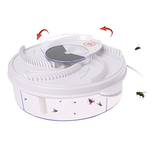 Automatic Electric Fly Trap Device With Trapping Food USB Cable Pest Catcher New -
