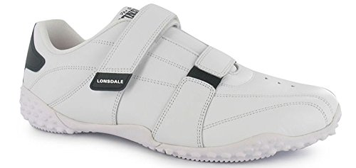 Lonsdale , Jungen Sneaker weiß / schwarz