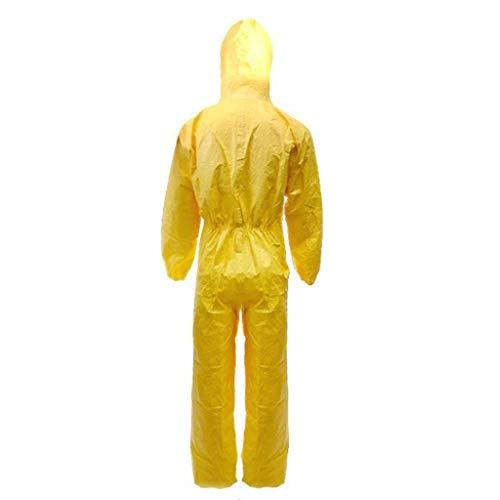 CYHX Siamesische Chemikalienschutzkleidung Anti-Säure- und Alkali-Pestizid-Spray Antistatik-, Gesundheits- und Körperpflegeprodukte (größe : S)
