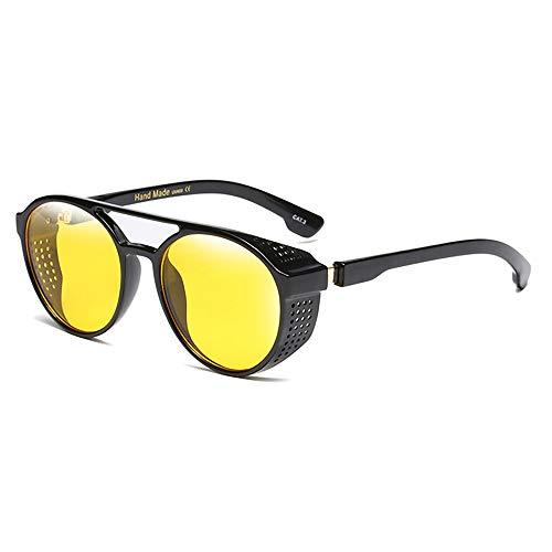 24 JOYAS Herren Sonnenbrille, 24-AC-25, Gelb, 24-AC-25