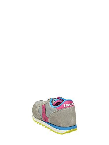 Saucony JAZZ Sneakers Bassa Bambina Grigio Rosa Blu
